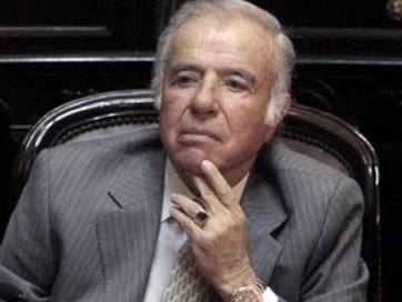 Menem fue condenado por tráfico de armas.