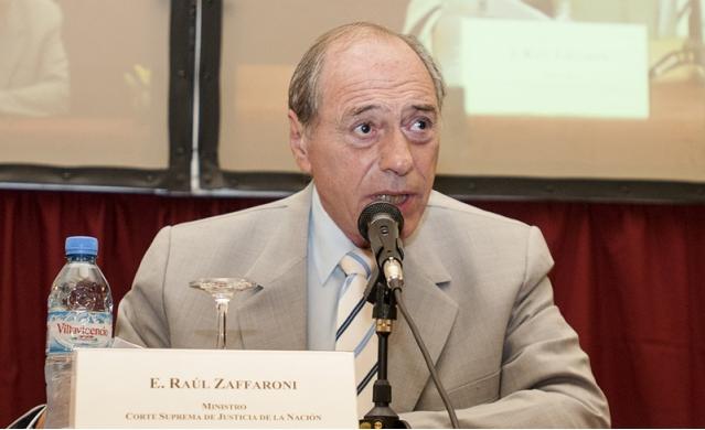 Zaffaroni cumple 75 años en enero.