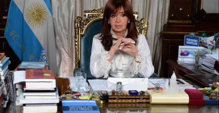 Cristina hizo el anuncio por cadena nacional.