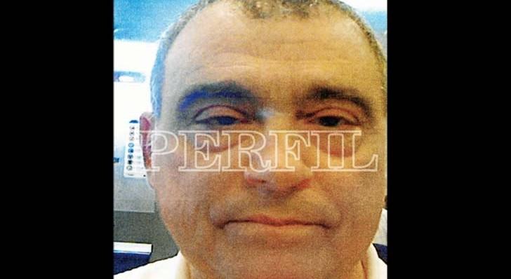 La foto de Stiuso difundida por Perfil.