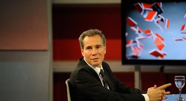 Nisman, días antes de su muerte.