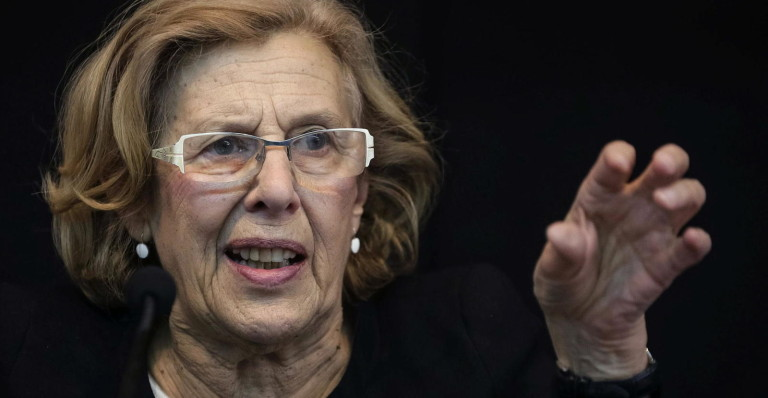 Carmena desplazó al PP en Madrid.