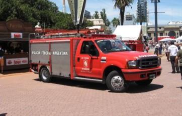 Los bomberos fueron acusados de apropiarse de combustible.