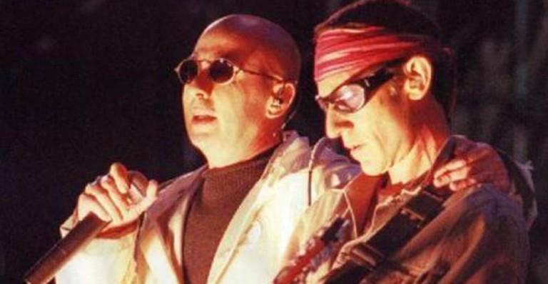 El Indio y Skay, los líderes de los Redondos.